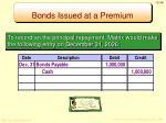bonds issued at a premium7