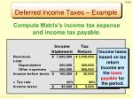 deferred income taxes example2