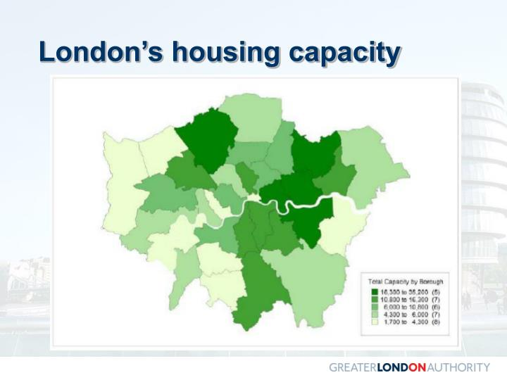 London's housing capacity