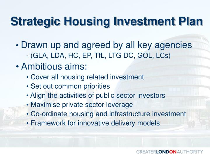 Strategic Housing Investment Plan
