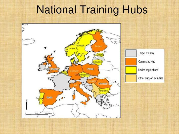 National Training Hubs