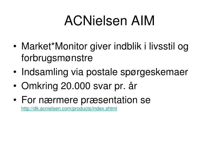 ACNielsen AIM