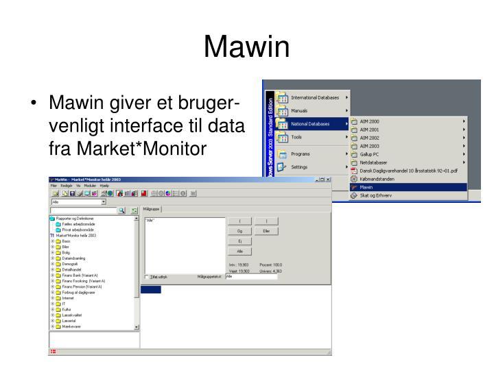 Mawin