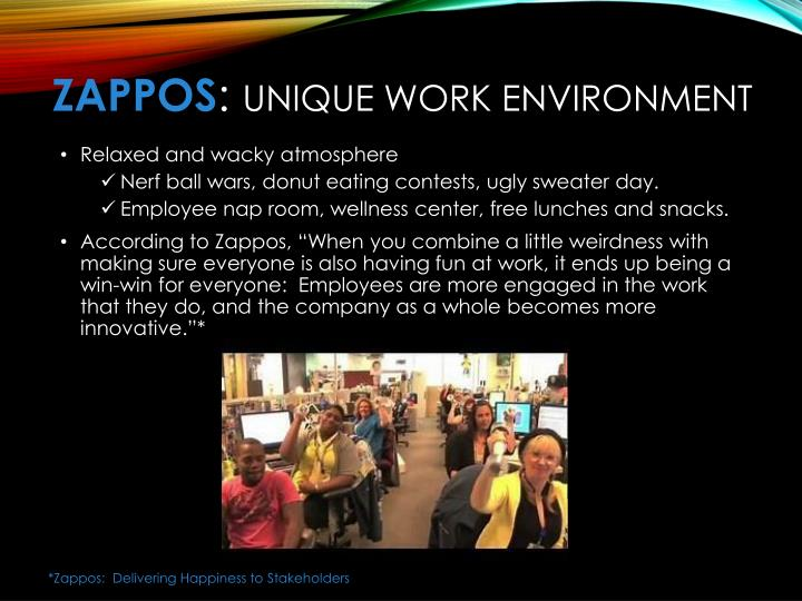 zappos com developing a supply chain to deliver wow