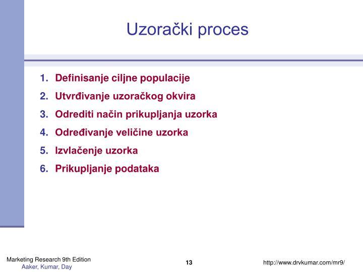 Uzorački proces