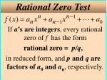 rational zero test
