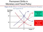 permanent shifts in monetary and fiscal policy5