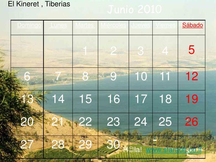 El Kineret , Tiberias