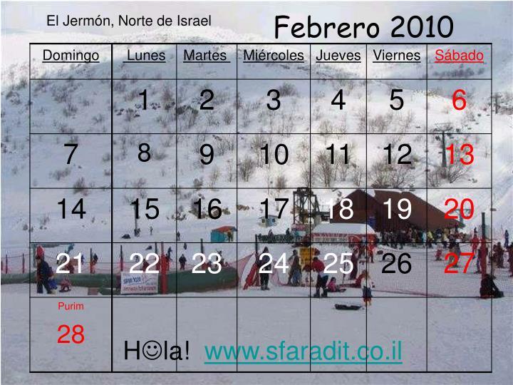Febrero 2010