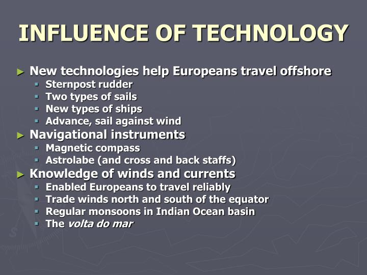INFLUENCE OF TECHNOLOGY