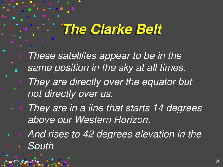 The Clarke Belt