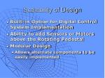 scalability of design