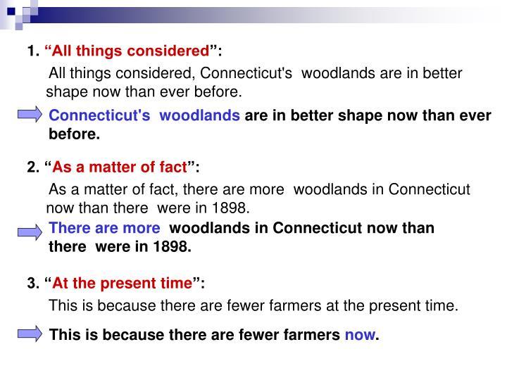 Connecticut's woodlands