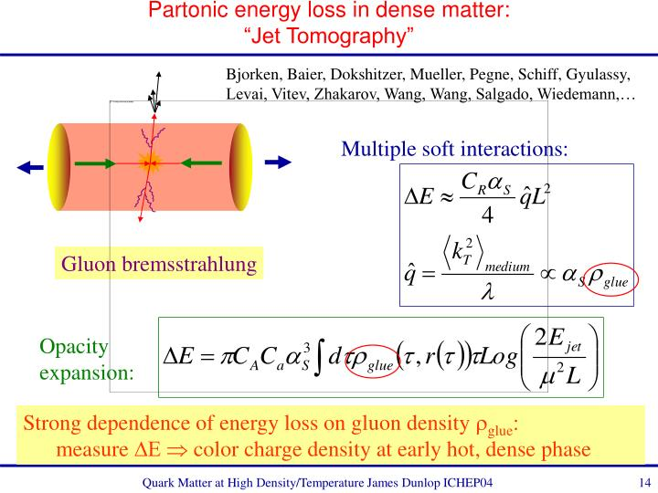Partonic energy loss in dense matter: