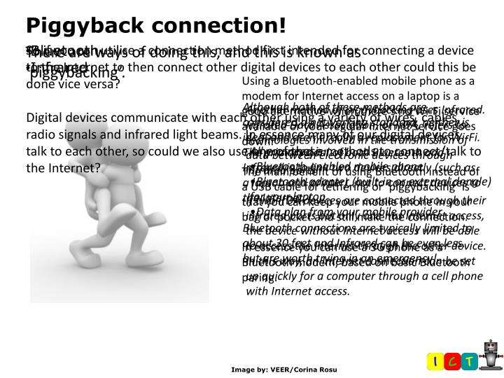 Piggyback connection!