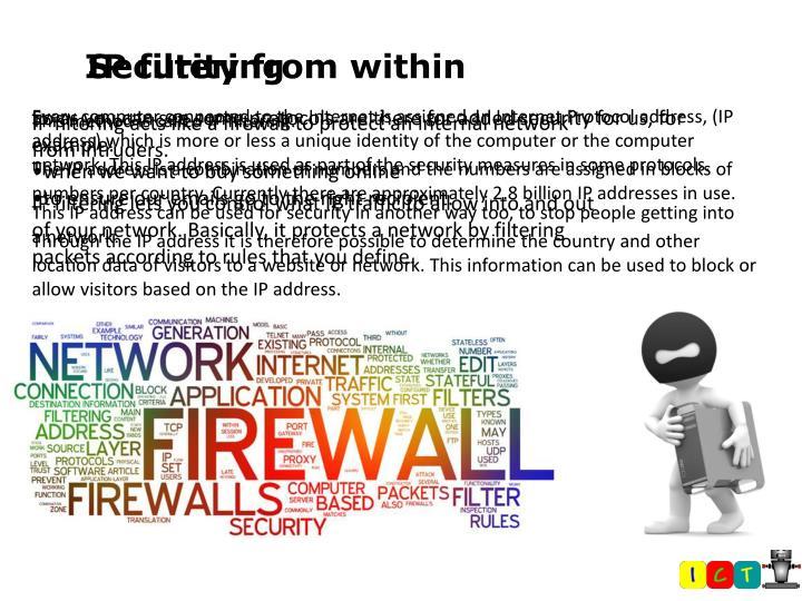 IP filtering