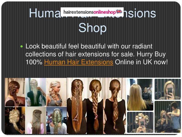 Human Hair Extensions Shop
