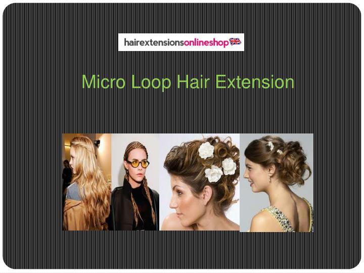 Micro Loop Hair Extension