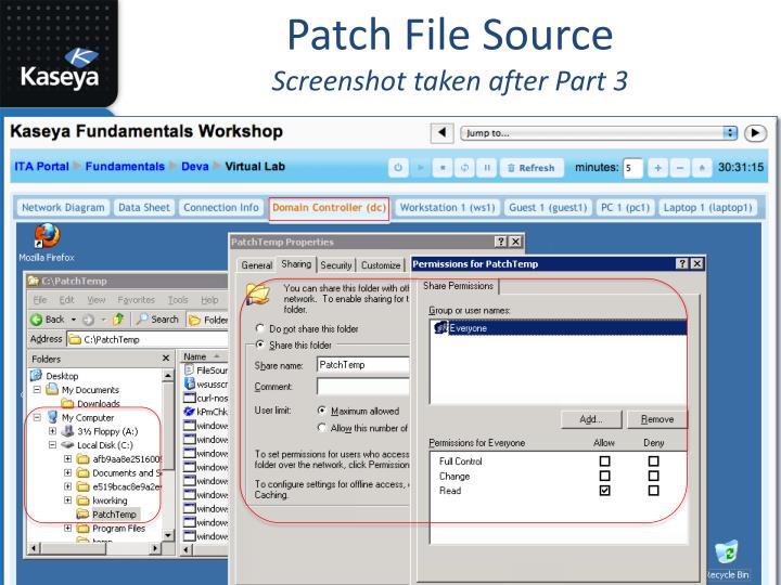 Patch File Source