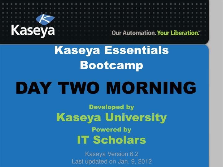 Kaseya Essentials