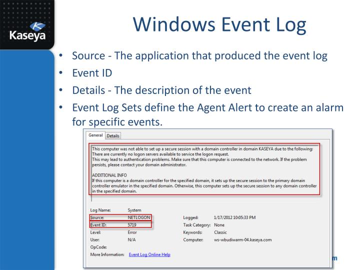 Windows Event Log