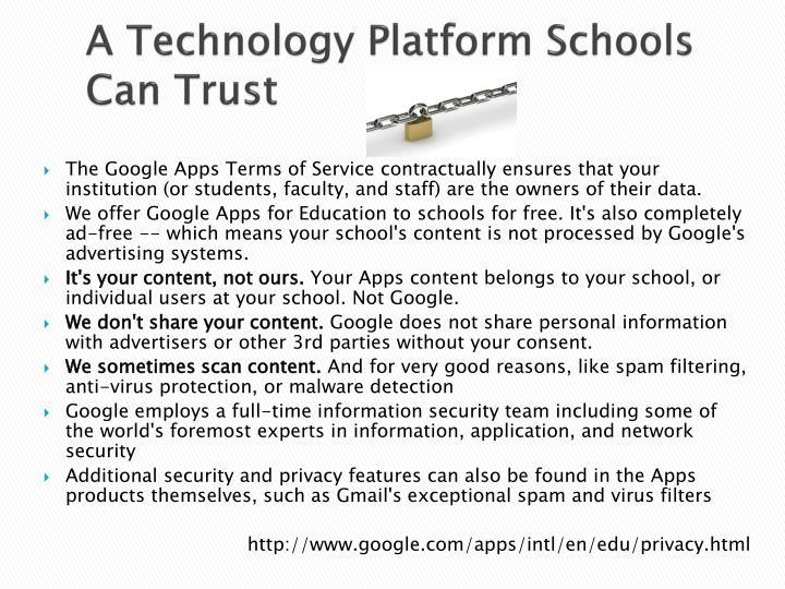 A Technology Platform