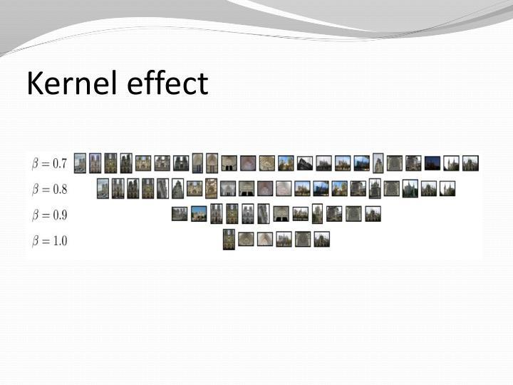 Kernel effect
