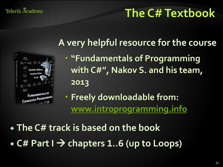 The C# Textbook