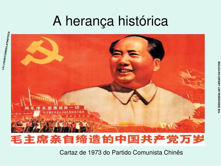 A herança histórica