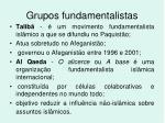 grupos fundamentalistas1