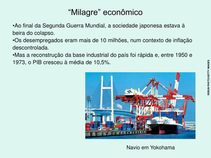 """Milagre"" econômico"