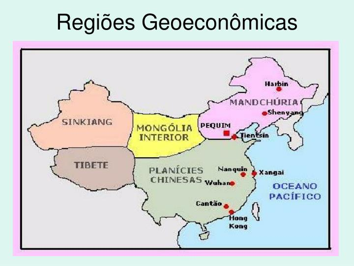 Regiões Geoeconômicas