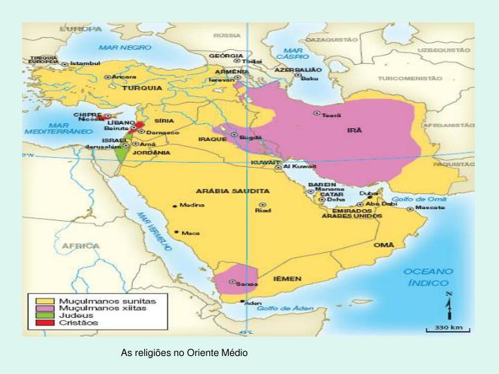 As religiões no Oriente Médio