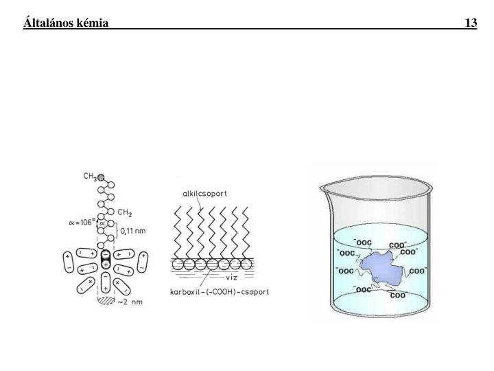 Általános kémia                               13