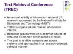 text retrieval conference trec