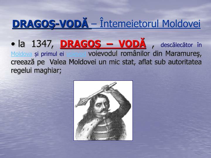 DRAGOŞ-VODĂ