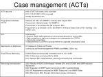 case management acts