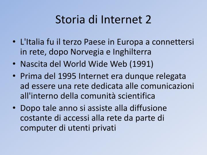 Storia di Internet 2