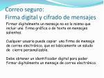 correo seguro firma digital y cifrado de mensajes1