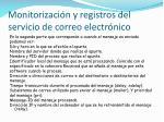 monitorizaci n y registros del servicio de correo electr nico4