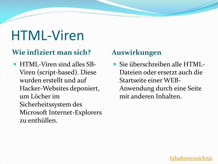 HTML-Viren