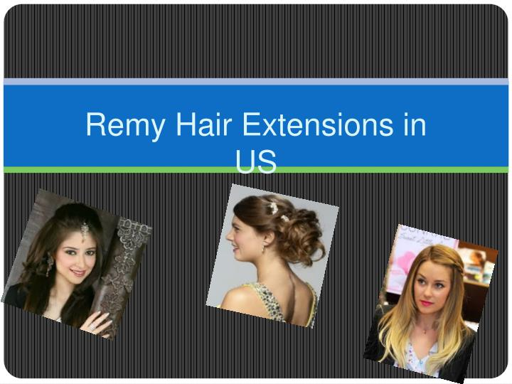 Remy Hair Extensions in US