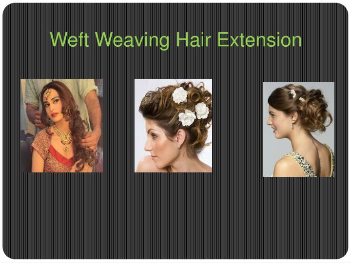 Weft Weaving Hair Extension