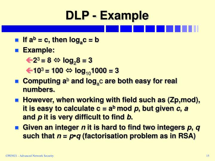 DLP - Example
