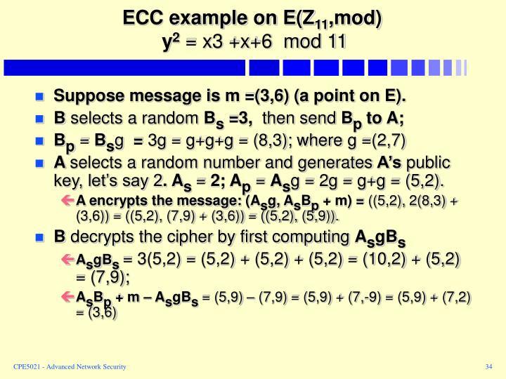 ECC example on