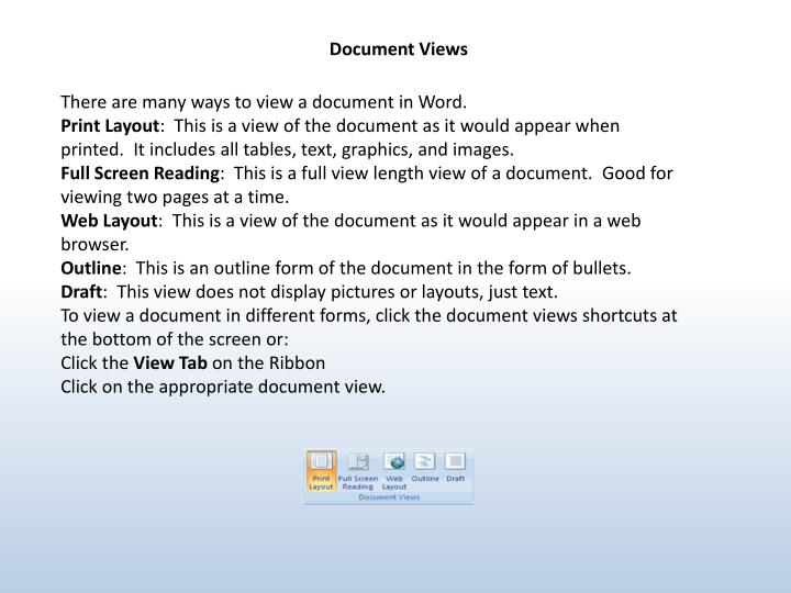 Document Views