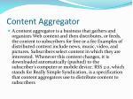 content aggregator1