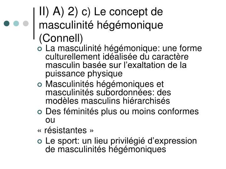 II) A) 2)