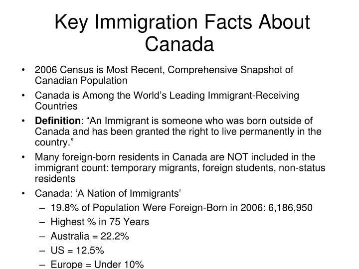 Key Immigration Facts About Canada