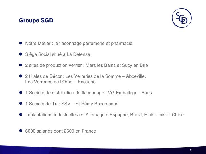 Groupe sgd